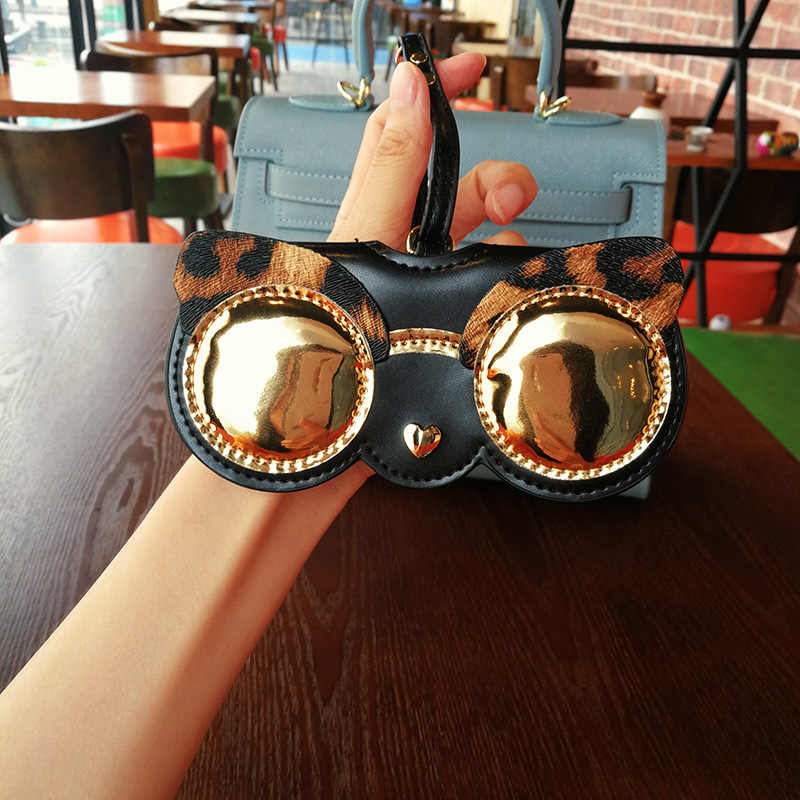 Sunglasses Case Cartoon Happy Fox Home Woods Portable Goggles Bag Multiuse Eyeglasses Pouch Holder Storage