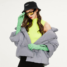 2019 winter new women's down jacket loose clothing student