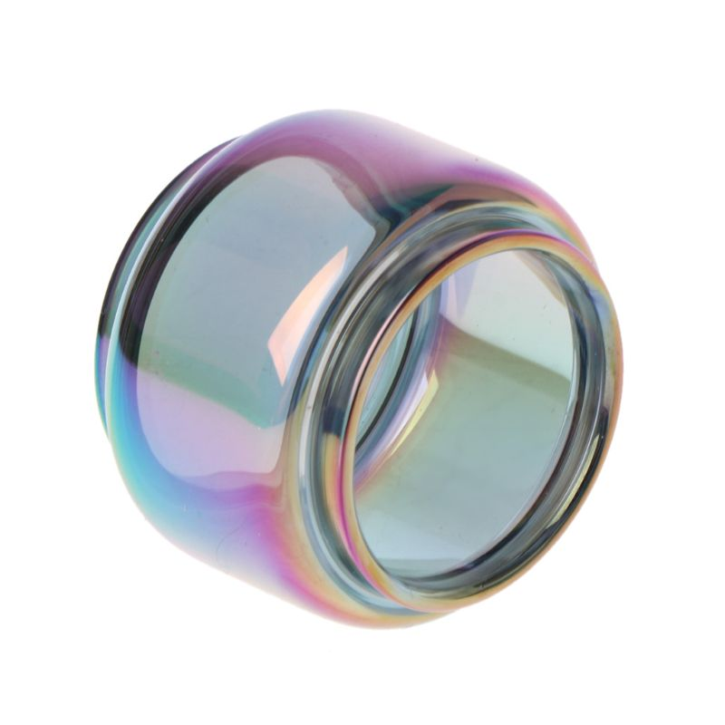 Colorful Rainbow Replacement Pyrex Bulb Glass Tube Tank For SMOK TFV16 Tank Atomizer Accessories