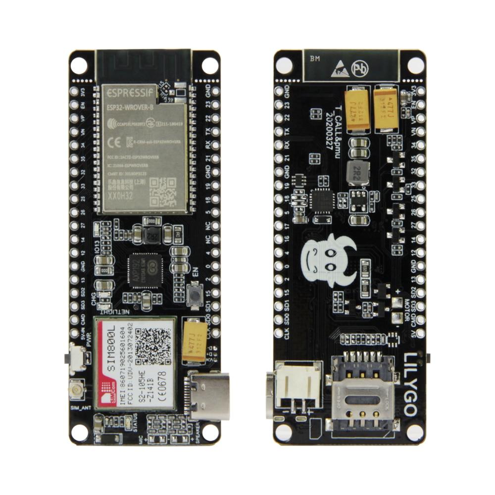 LILYGO-Ttgo-t-call-pmu-esp32-m-dulo-sem-fio-sim-antena-sim-cart-o-sim800l