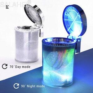 Image 3 - רכב מאפרה עם LED אור מאפרה עשן כוס מחזיק עבור פיג ו 107 108 206 207 208 308 307 408 407 508 3008 2008 אוטומטי סטיילינג