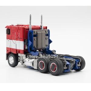 Image 5 - AOYI 액션 피규어 완구 LS 13 LS13 확대 OP 스타 나이트 커맨더 트럭 비공식 전기 변형 변형