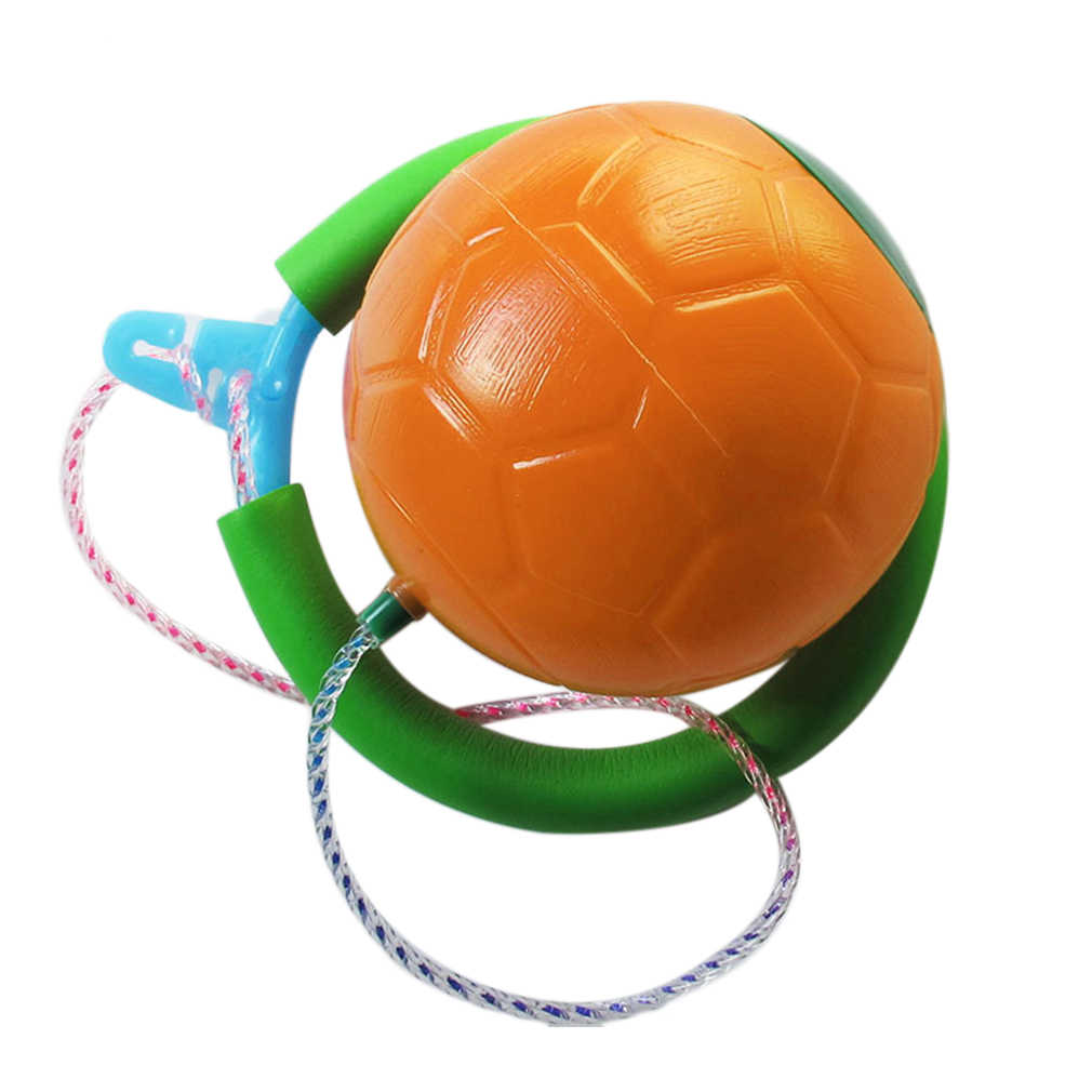 Jumping Ring Skip Ball Ankle Sports Funny Toy LED Flash Fitness Sport Adult Kids