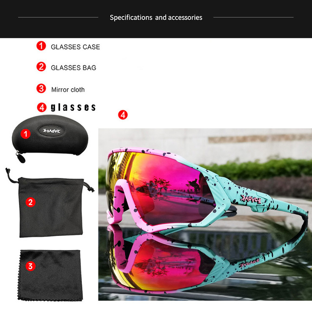 Ciclismo óculos de sol das mulheres dos homens da bicicleta de estrada equitação correndo óculos oculos ciclismo mtb fietsbril gafas 1 lente 6