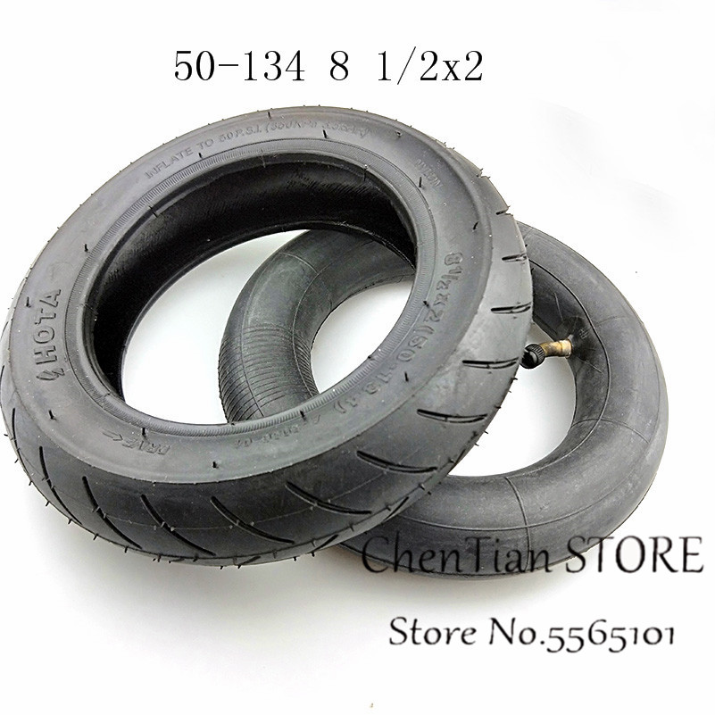 8 1/2x2 (50 134) Inner and Outer Tyres For Electric scooter tyre and INOKIM Night Series Scooter 8.5 Inch Pneumatic Tire 8.5X2.0|Tyres| |  - title=