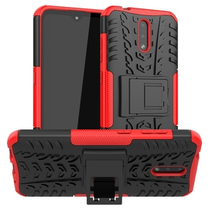 Kickstand Armor Case For Nokia 8 6 2018 5 3 2 1 6.1 7.1 8.1 2.1 3.1 5.1 Plus Nokia 2.2 2.3 3.2 4.2 7.2 X5 X6 X7 Shockproof Cover(China)