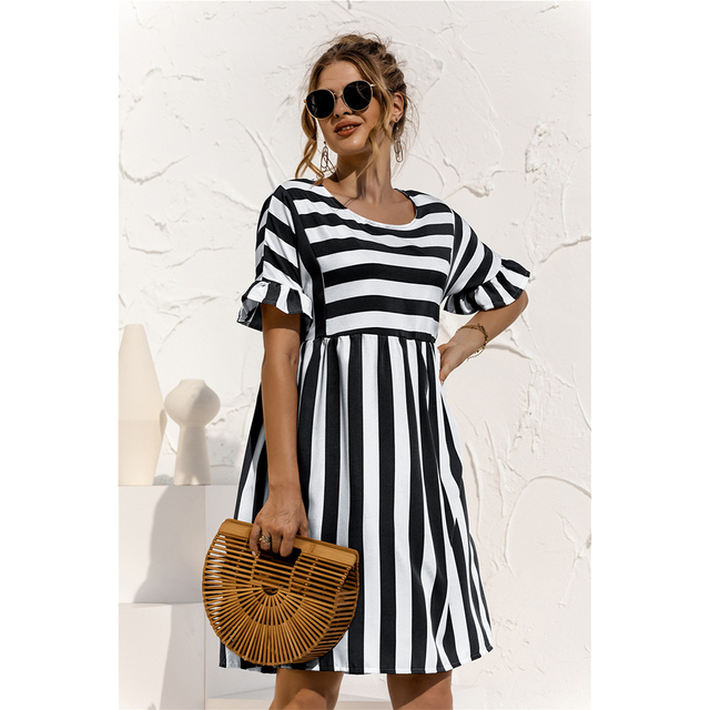 striped country dress 6