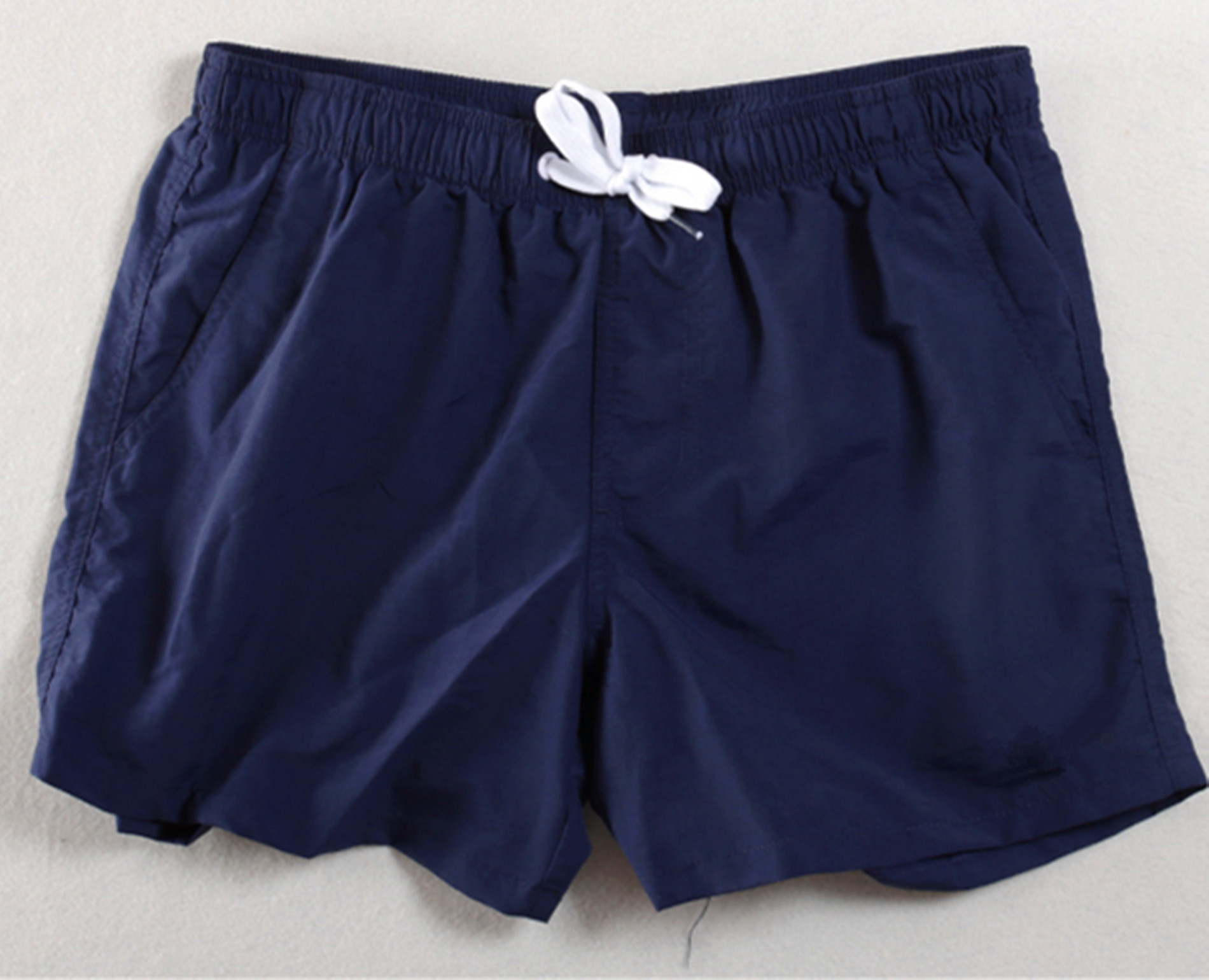 Summer Outdoor Sports Thin Breathable Double Layer Moisture Wicking Beach Shorts