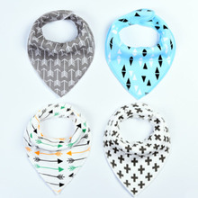 Baby Bibs Towel Newborn-Care-Products Triangle Cotton Snap Soft Quick-Dry High-Quality