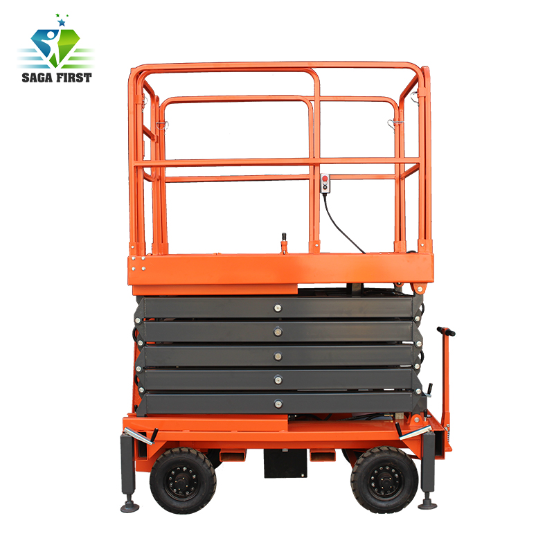 10m To 14m Driveable Electric Lifting Platforms