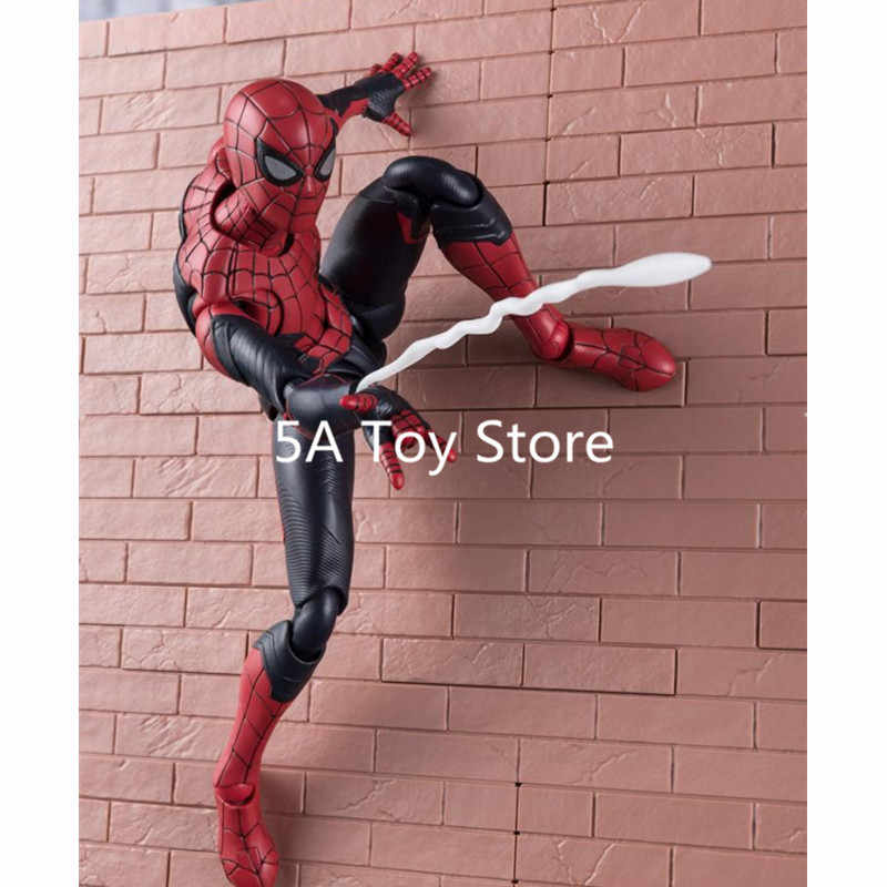 Spider-Man loin de la maison PVC SpiderMan mise à niveau costume figurine modèle Collection jouet