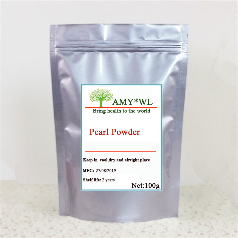 100g-1kg Skin Care Pearl Powder 100% Pure Pearl Powder/skin Whitening Pearl Powder