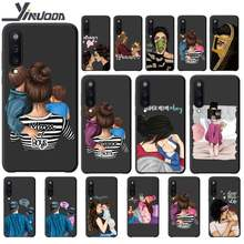 Super Papa Mama Baby Meisje Twin Luxe Telefoon Geval Gevallen Voor Samsung Galaxy A10 A20 A50 A51 A70 A71 A40 a30 A30S A80 Cover Etui(China)