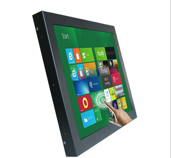 Hot sale 15 inch   IP65 lcd monitor outdoor waterproof touch screen usb monitor,car monitor.