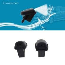 2 шт. лобовое стекло шайба швабра с функцией распыления воды форсунки подходит для Ford Mondeo Fiesta 02-08 Focus MK3 MK4 Focus C-max