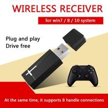 2.4GHz PC Controller Adapter USB Joystick Wireless Receiver for XBOX ONE Wireless Controller Adapter for Windows 7/8/10 Laptops