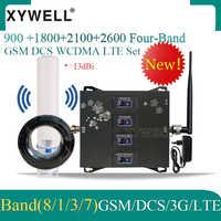2020 nowość!! Czterozakresowy 900 1800 2100 2600 2G 3G 4G wzmacniacz sygnału komórkowego 4G wzmacniacz komórkowy 4g wzmacniacz GSM DCS WCDMA LTE