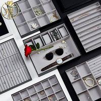 Creative DIY Jewelry Box Necklace Earrings Ring Box Jewelry Storage Box European Princess Korea Large Capacity Dressing Case