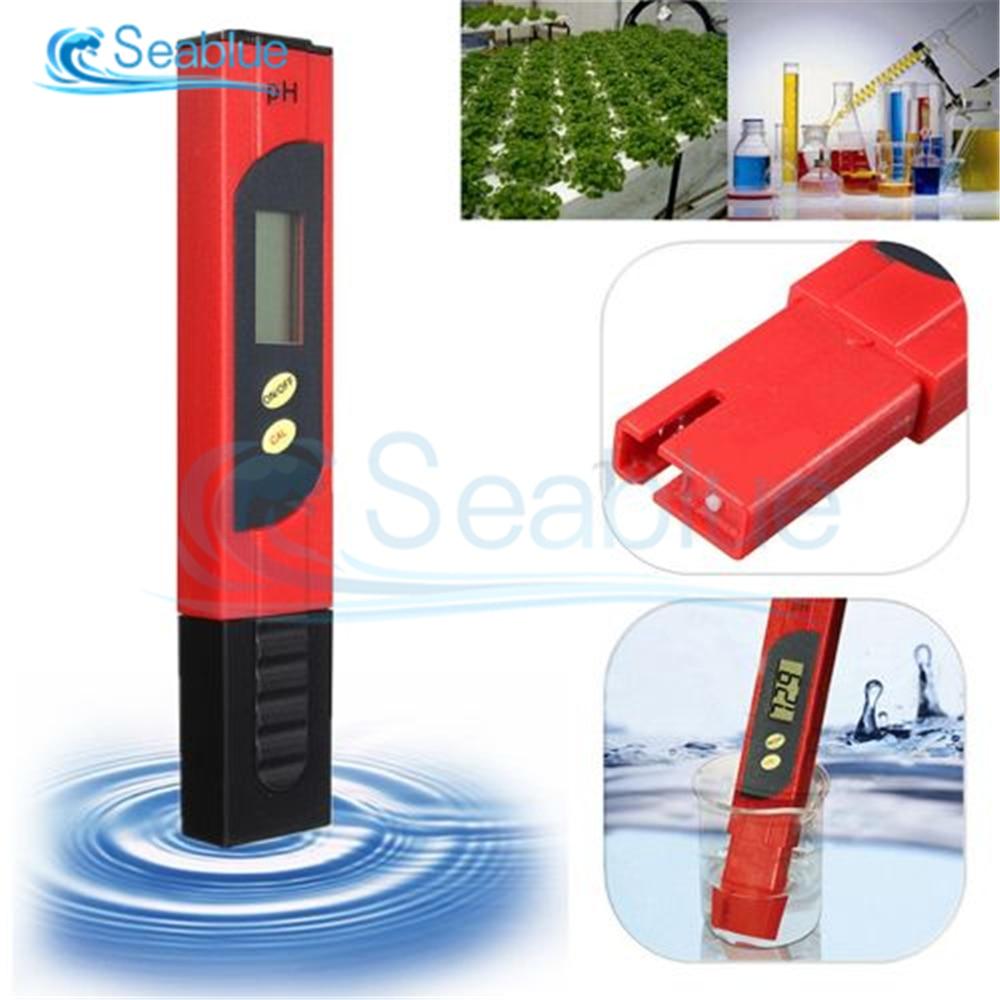 PH-метр цифровой с ЖК-дисплеем, точность 0,1, для аквариума, бассейна, воды, вина, автоматическая калибровка, инструмент для проверки качества в...