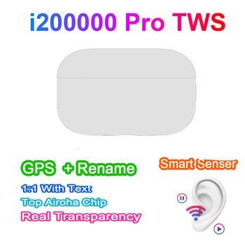 The new i200000 Pro TWS wireless Bluetooth headset GPS renamed for Apple Android Samsung pk i90000 i300000 i50000 i100000