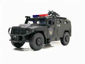 Image 5 - จำลอง1:32ล้อแม็กเลื่อนรัสเซียรถหุ้มเกราะป้องกันการระเบิดทหารรุ่นSound Lightรถเด็กของเล่น
