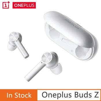 Oryginalny OnePlus pąki Z słuchawki kule bezprzewodowy 2 Bluetooth 5 0 magnetyczne zestawem słuchawkowym do regulacji dla Oneplus 8T 8 Pro 6T słuchawki tanie i dobre opinie douszne NONE Wyważone CN (pochodzenie) wireless do 32Ω Brak Oneplus Buds Z półotwarte inny 10mm 20 - 20000Hz Z mikrofonem