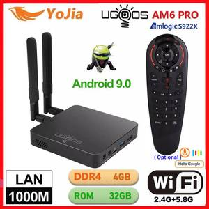 UGOOS AM6 Pro TV BOX Android 9