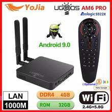 UGOOS AM6 TV BOX Android 9.0 Amlogic S922X AM6 PRO 4K Media