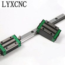 HGH25CA HGW25CC Slider Block Match Use HGR Heavy Linear Guide Rail Length 200mm 400mm 800mm 1000mm 1100mm For CNC Diy Parts