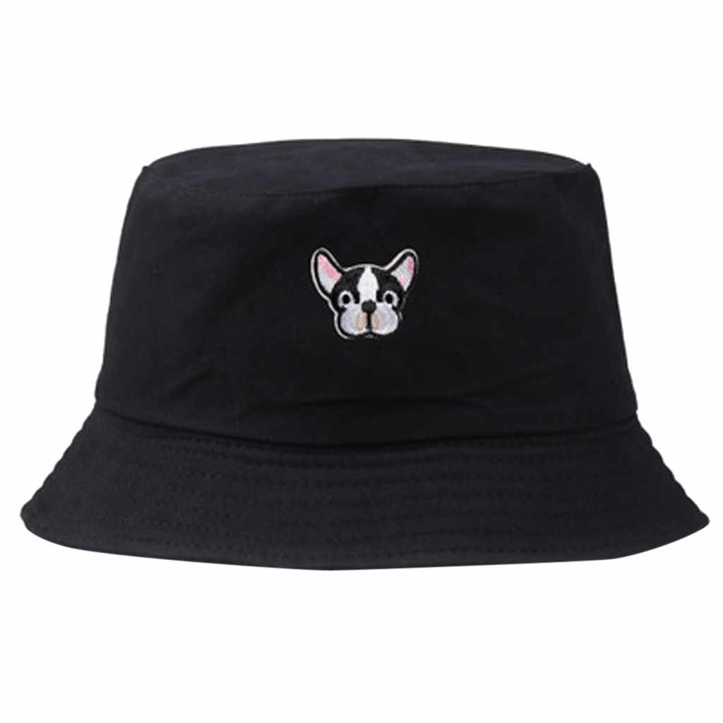 Women Bucket Hat Printed Outdoor Fishing Hats Men Summer Vintage Ladies Hip Hop Bucket Hat Street Unisex  Dropshipping ##4