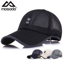 Mosodo Net Baseball Cap Men Fashion Outdoor Cap Women Summer Leisure Breathable Sunscreen Hat