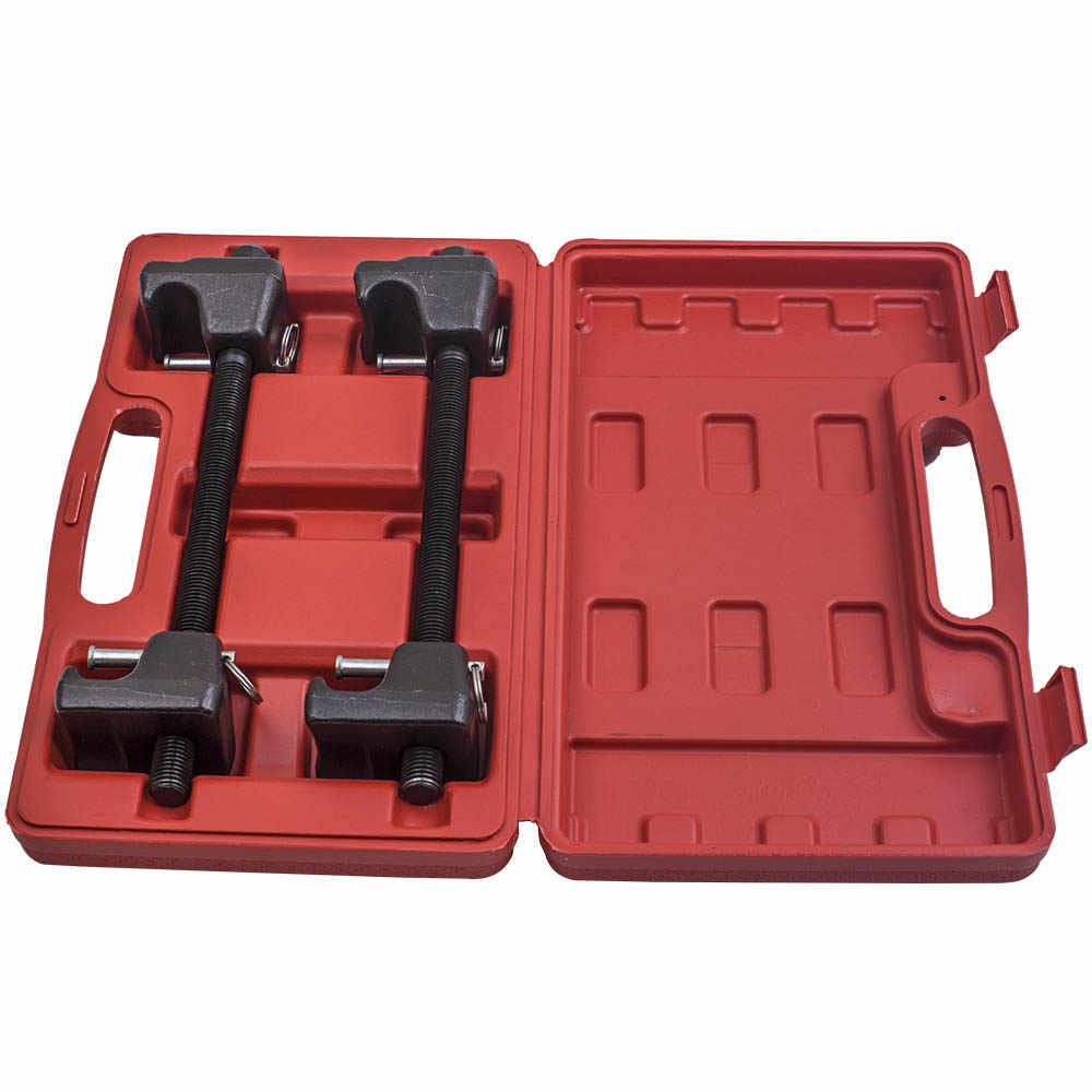 TRIL GEAR 2pc 300mm Heavy Duty Macpherson Strut Coil Spring Compressor Remover Installer Tool Kit w//Case