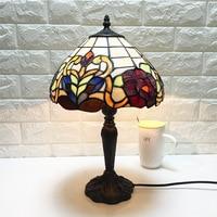 Mediterrane Retro Stijl Glas Turkse Mozaïek Tafel Lampen Handworked Studie Slaapkamer Thuis Art Decor Turkse Lamp-in LED Tafellampen van Licht & verlichting op