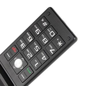 Image 4 - Uniwa x9 x28 플립 모바일 수석 전화 16800 mah gsm 큰 푸시 버튼 듀얼 sim fm 러시아어 히브리어 키보드 필기 sos 전화