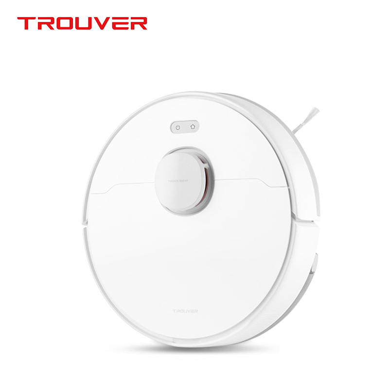 TROUVER Finder vacuum cleaner sweep robot wet mopping disinfection LDS laser navigation mijia mi home control APP virtual wall 1