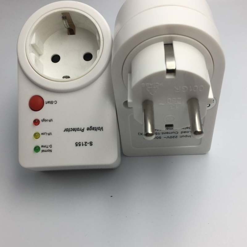 Automatic Voltage Protector Switcher Avs 15a 220v Power Surge Protection German Eu Socket Type Volt Safe For Home Appliances New Aliexpress