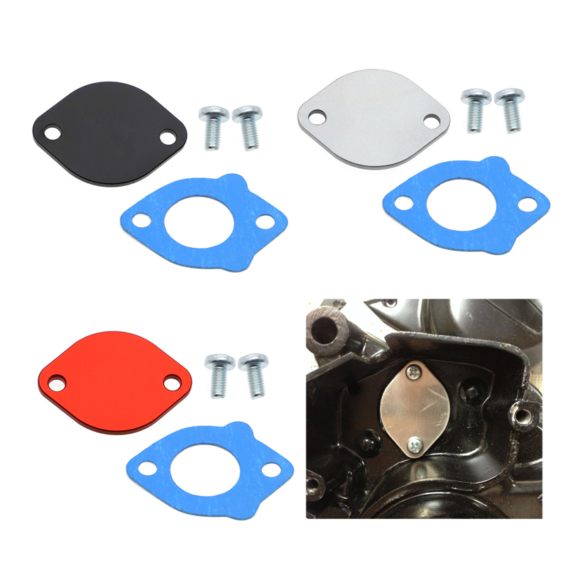 For <font><b>Suzuki</b></font> TM125 TM250 TM400 RM125 TS400 TS250 Oil Pump block off plate 16745-16701 TM 125 <font><b>250</b></font> 400 TS 400 <font><b>250</b></font> <font><b>RM</b></font> 125 RL250 image