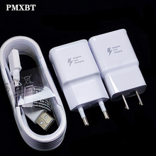 USB C Cable For Samsung S8 S9 plus Note 8 9 C5 7 9 A3 A5 A7 Originele Wall Adaptive Fast Charger USB Type C Kabel Travel Adapter цена 2017