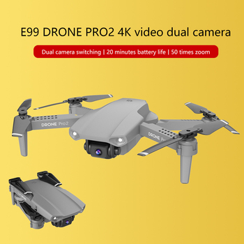 E99 Pro2 Mini Drone Skimmer With 4K 1080P 720P Dual Camera WIFI FPV Aerial Photography Helicopter RC Foldable Quadcopter Kid Toy 5