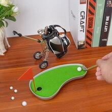 Подарочный набор для гольфа украшение развлекательная игрушка