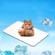 Летняя ледяная кровать для домашних животных коврик хамстеры