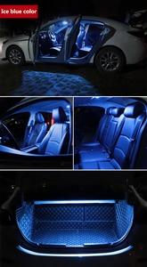 Image 3 - Para Audi A3 8L 8V 8P A4 B5 B6 B7 B8 A5 A6 C5 C6 C7 A7 A8 D2 D3 Canbus vehículo LED Interior mapa cúpula luz en el maletero Kit