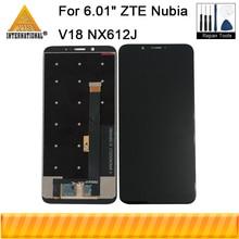 "Originale 6.01 ""Per ZTE Nubia V18 NX612J Axisinternational Display LCD Screen + Touch Panel Digitizer Per Nubia V18 NX612J schermo"