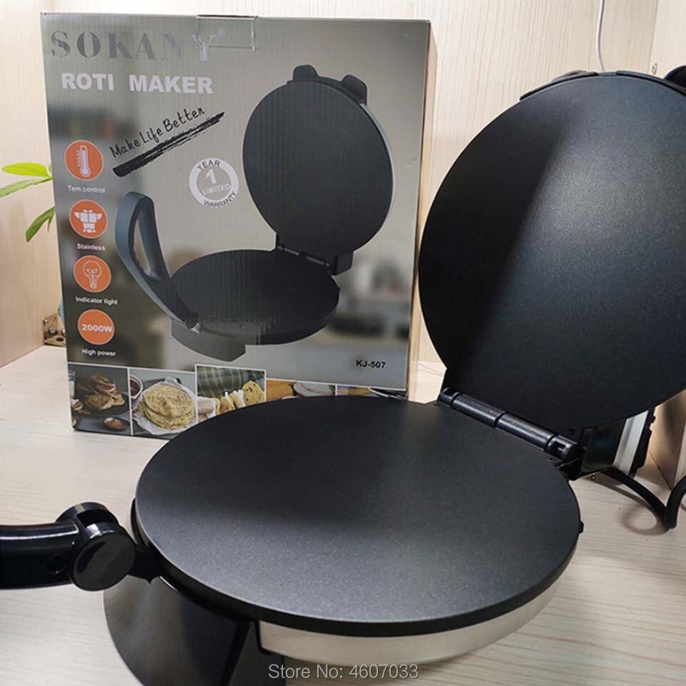 Crêpière électrique Machine à crêpes Pizza plaque de cuisson antiadhésive plaque de cuisson gâteau Machine cuisine outils de cuisson 220v