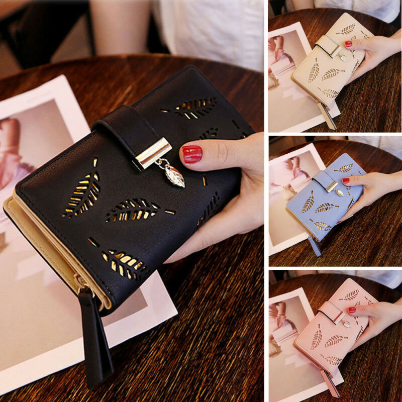 Women Lady Clutch Leather Wallet Long Length Card Holder Phone Case Purse Handbag Hot