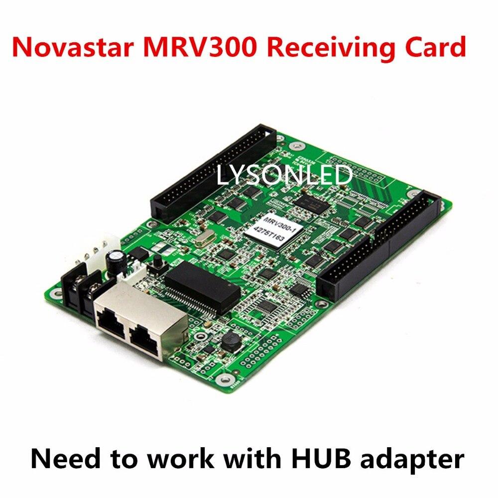 LYSONLED Novastar MRV300 MRV300-Q LED Video Display Receiving Card , Synchronous Nova LED Video Wall Receiving Card MRV300