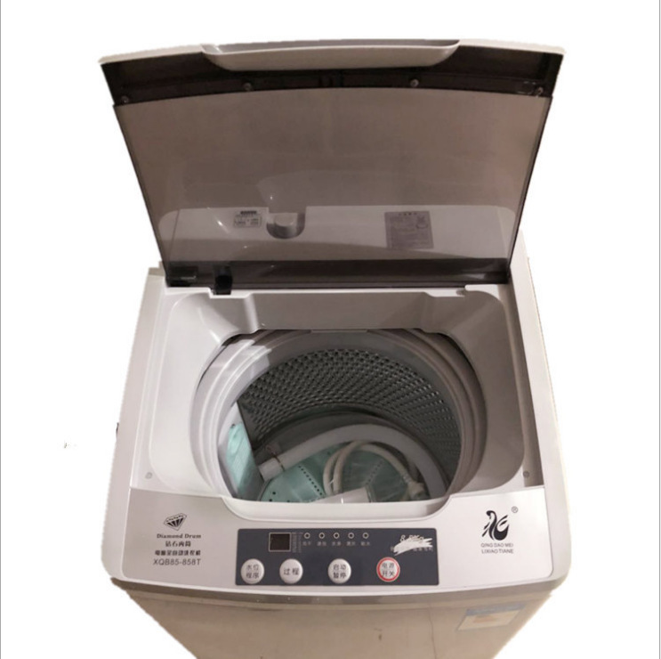 7.5L Automatic Turbo Washing Machine Household Strong Dehydration Portable Washing Machine Washer And Dryer Mini Laundry Machine