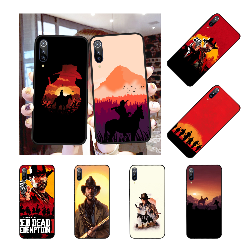 NBDRUICAI Red Dead Tempered Coque Shell Phone Case for Redmi Note 8 8A 7 6 6A 5 5A 4 4X 4A Go Pro Plus Prime