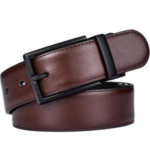 Image 5 - Mens Cintura, Reversibile Cinghie di Cuoio per Gli Uomini, Ruotato Fibbie, Vestito E Casual, classic & Disegni di Moda per Uomo