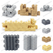 Piece 1x3 Building Blocks Corner Brick Lot Diy Military City Technology Figures Mini Model Moc Child Christmas Birthday Gift Toy цена в Москве и Питере